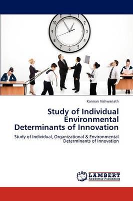 Study of Individual Environmental Determinants of Innovation (Paperback)