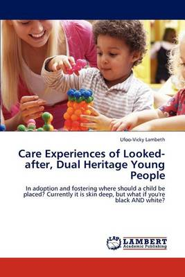 Care Experiences of Looked-After, Dual Heritage Young People (Paperback)