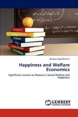 Happiness and Welfare Economics (Paperback)
