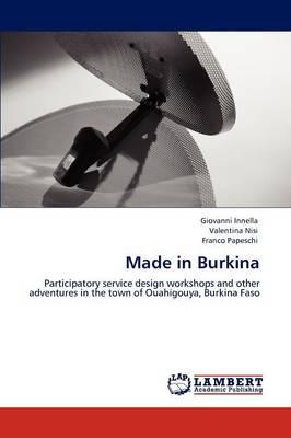 Made in Burkina (Paperback)