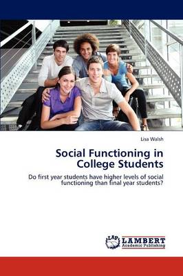 Social Functioning in College Students (Paperback)