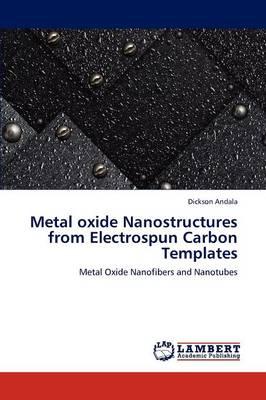 Metal Oxide Nanostructures from Electrospun Carbon Templates (Paperback)