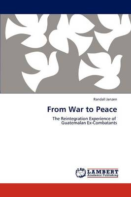 From War to Peace (Paperback)