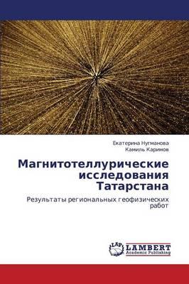 Magnitotelluricheskie Issledovaniya Tatarstana (Paperback)