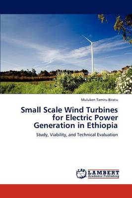 Small Scale Wind Turbines for Electric Power Generation in Ethiopia (Paperback)