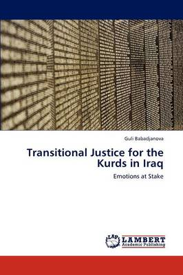 Transitional Justice for the Kurds in Iraq (Paperback)
