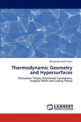 Thermodynamic Geometry and Hypersurfaces (Paperback)