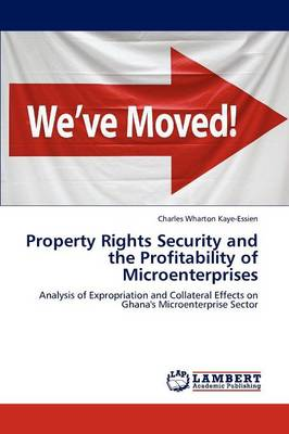 Property Rights Security and the Profitability of Microenterprises (Paperback)