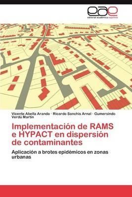 Implementacion de Rams E Hypact En Dispersion de Contaminantes (Paperback)