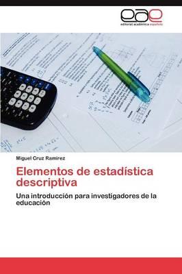Elementos de Estadistica Descriptiva (Paperback)