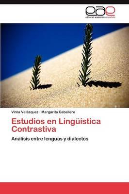 Estudios En Linguistica Contrastiva (Paperback)