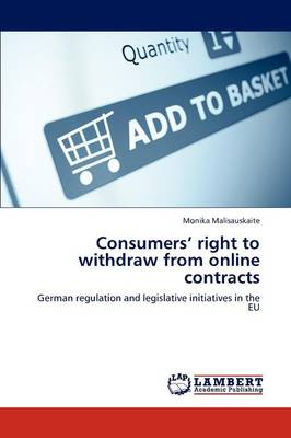 Consumers' Right to Withdraw from Online Contracts (Paperback)