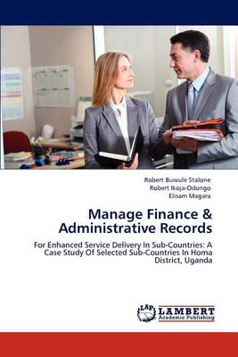 Manage Finance & Administrative Records (Paperback)