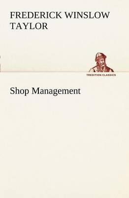 Shop Management (Paperback)