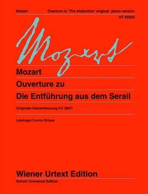 Overture to Die Entfuhrung Aus Dem Serail: Original Piano Version (Sheet music)