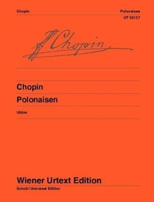 Polonaises: Edited from the sources and provided with fingerings and notes on interpretation by Christian Ubber (Sheet music)