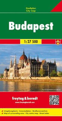 Budapest: FBC.512 (Sheet map, folded)