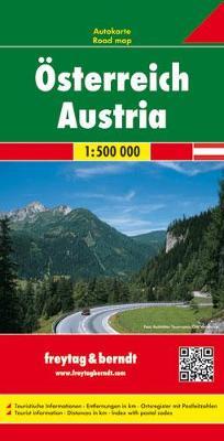 Austria 2015 (Sheet map, folded)