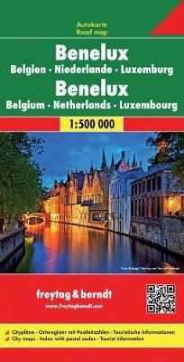 Benelux 2010 (Sheet map, folded)