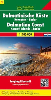 Dalmatian Coast 1 Zadar/Kornaten/Zadar: FB.J103 (Sheet map, folded)