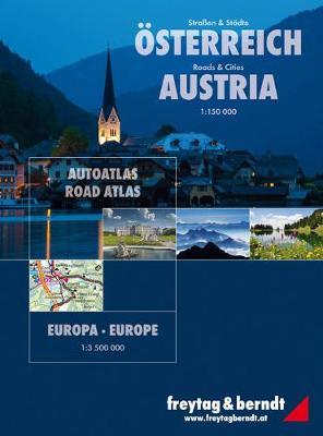 Austria Roads and Cities - Europe Superatlas: FBA161 (Spiral bound)