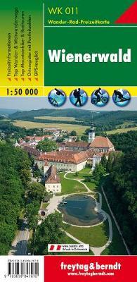 Wienerwald GPS: FBW.WK011 (Sheet map, folded)