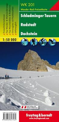 Schladminger Tauern, Radstadt, Dachstein 2017 (Sheet map, folded)