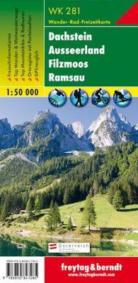 Dachstein, Ausseer Land, Filzmoos, Ramsau GPS: FBW.WK281 - Hiking Maps of the Austrian Alps (Sheet map, folded)