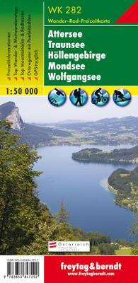 Attersee, Traunsee, Hollengebirge, Mondsee GPS: FBW.WK282 (Sheet map, folded)