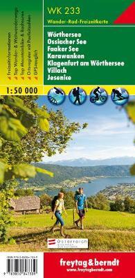 Worther See, Ossaicher See, Gerlitzen, Faaker See-Karawanken-Klagenfurt-Villach GPS: FBW.WK233 - Hiking Maps of the Austrian Alps (Sheet map, folded)