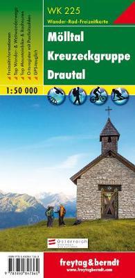 Mollental, Kreuzeckgruppe, Drautal GPS: FBW.WK225 (Sheet map, folded)