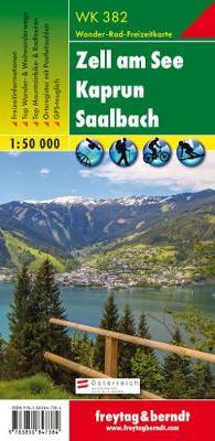 Zell a. See - Kaprun - Saalbach Hiking + Leisure Map 1:50 000 (Sheet map, folded)