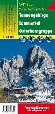 Tennengebirge - Lammertal - Osterhorngruppe Hiking + Leisure Map 1:50 000 (Sheet map, folded)