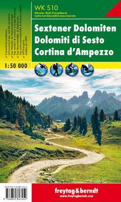 Sextener Dolomiten - Cortina d'Ampezzo: FBW.WKS.10 - Hiking Maps of the South Tyrol (Sheet map, folded)