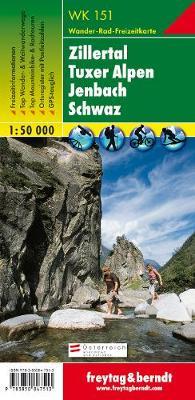 Zillertal, Tuxer Alpen, Jenbach, Schawz GPS: FBW.WK151 - Hiking Maps of the Austrian Alps (Sheet map, folded)