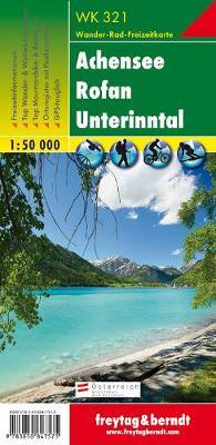 Achensee - Rofan - Unterinntal Hiking + Leisure Map 1:50 000 (Sheet map, folded)