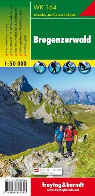 Bregenzerwald - Rheintal: FBW.WK364 - Hiking Maps of the Austrian Alps (Sheet map, folded)