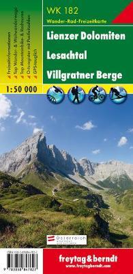 Lienzer Dolomiten, Lesachtal GPS: Lienzer Dolomiten (Lienz Dolomites), Lesachtal: FBW.WK182 - Hiking Maps of the Austrian Alps (Sheet map, folded)
