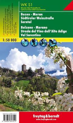Bozen, Meran - Sudtiroler Weinstrasse - Sarntal GPS: FBW.WKS.01 - Hiking Maps of the South Tyrol (Sheet map, folded)