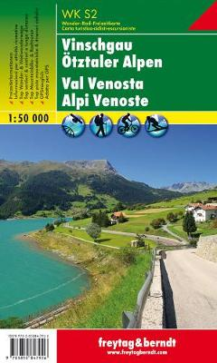 Vinschgau Otztaler Alpen: FBW.WKS.02 - Hiking Maps of the South Tyrol (Sheet map, folded)