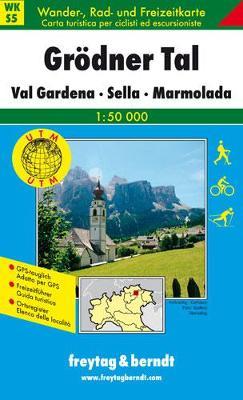 Grodner Tal-Val Gardena-Sella-Marmolada: FBW.WKS.05 - Hiking Maps of the South Tyrol (Sheet map, folded)