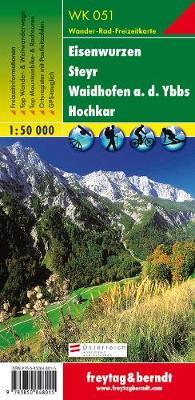 Eisenwurzen, Steyr, Waidhofen an der Ybbs, Hochkar 2016 (Sheet map, folded)