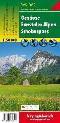 Gesause-Ennstaler Alpen-Schoberpass GPS: FBW.WK062 - Canoeing Maps of Austria (Sheet map, folded)