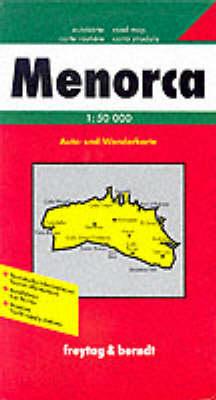 Minorca: FB.S089 - Road Maps (Sheet map)