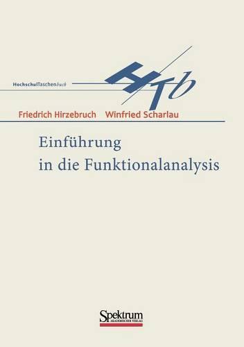 Einfuhrung In die Funktionalanalysis (Paperback)