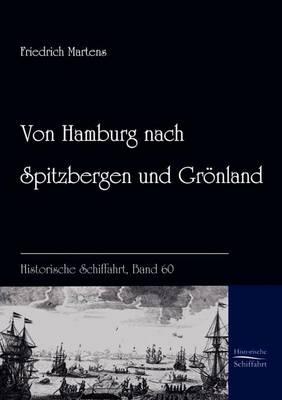 Von Hamburg Nach Spitzbergen Und Gronland (Paperback)