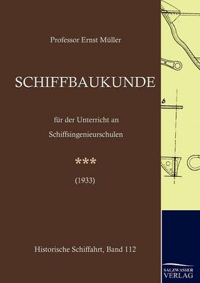 Schiffbaukunde (Paperback)