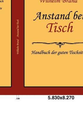 Anstand Bei Tisch (Paperback)