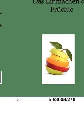 Das Einmachen Der Fruchte (Paperback)