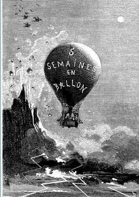 Funf Wochen Im Ballon (Paperback)